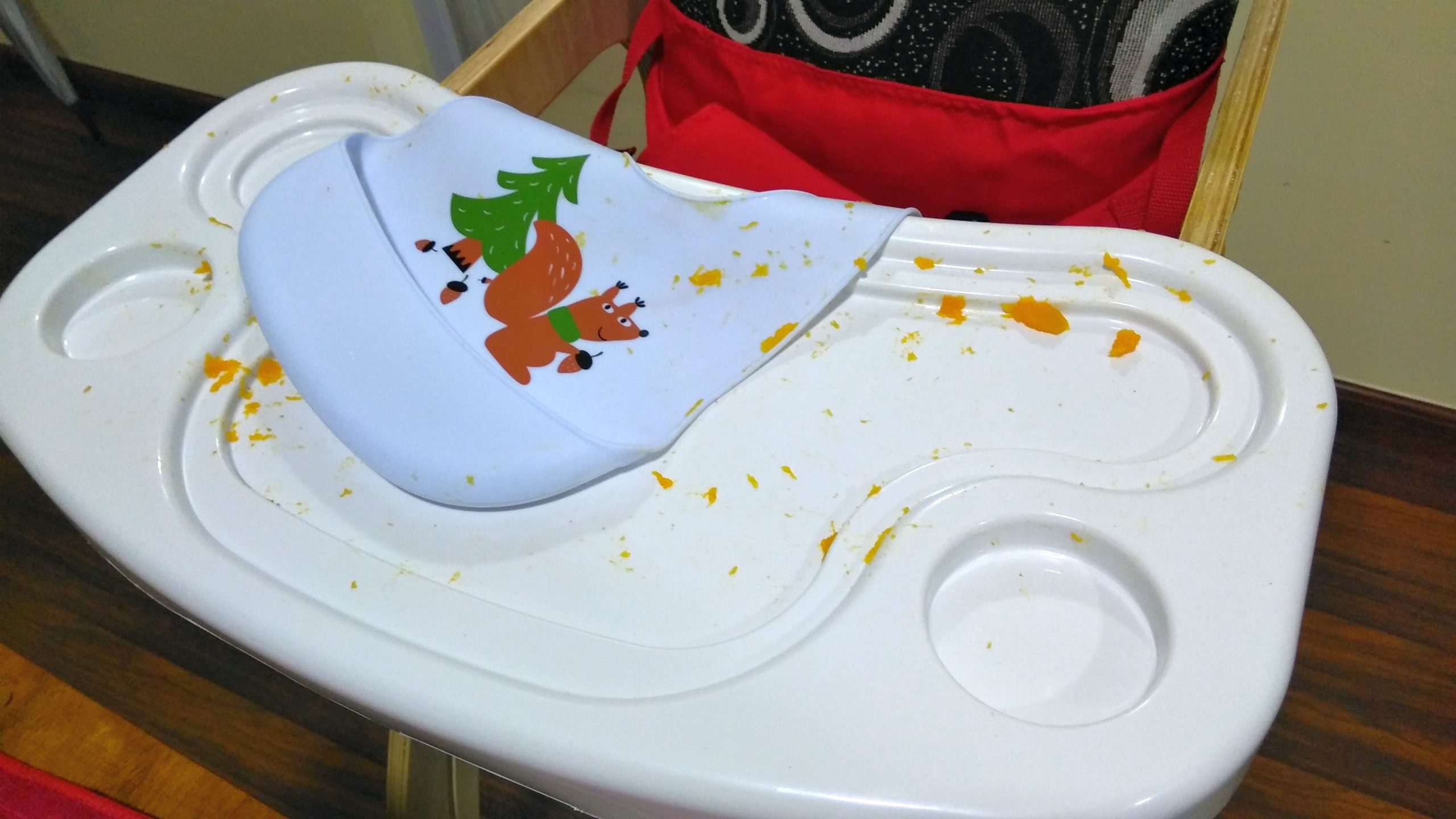The post baby led weaning mess